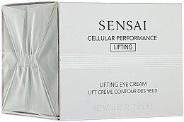 Parfumuri și produse cosmetice Concentrat revitalizant - Kanebo Sensai Cellular Performance Lifting Eye Cream
