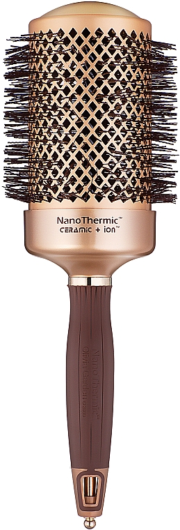 Perie Rotundă 64mm - Olivia Garden Nano Thermic Ceramic + Ion Brush d 64