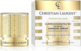 Parfumuri și produse cosmetice Ser super concentrat cu efect de fermitate pentru frunte, ochi și buze - Christian Laurent Super Concentrated Brightening Diamond Serum