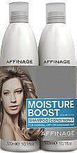 Parfumuri și produse cosmetice Set - Affinage Moisture Boost Duo (shm/300ml+cond/300ml)