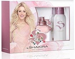 Parfumuri și produse cosmetice Shakira S By Shakira Eau Florale - Set (edt 50ml + deo 150ml)