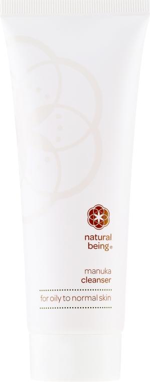 Gel de curățare pentru pielea normală și grasă - Natural Being Manuka Cleanser — Imagine N2