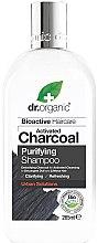 Parfumuri și produse cosmetice Șampon cu cărbune activat pentru păr - Dr. Organic Bioactive Haircare Activated Charcoal Purifying Shampoo