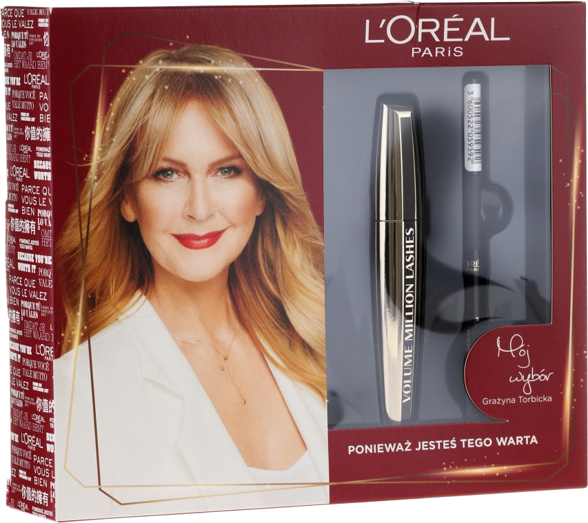 Set - L'Oreal Paris (mascara/10.7ml + eyeliner/7g) — Imagine N1