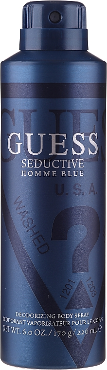 Guess Seductive Homme Blue - Set (edt/100ml + deo/226ml + sh/gel/200ml) — Imagine N4