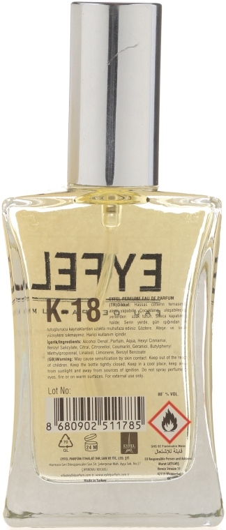 Eyfel Perfume K-18 - Apă de parfum — Imagine N2