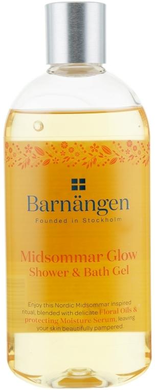 Gel de duș - Barnangen Nordic Rituals Midsommar Glow Shower&Bath Gel