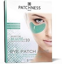 Parfumuri și produse cosmetice Patch-uri cu extract de aloe vera - Patchness Eye Patch Aloe