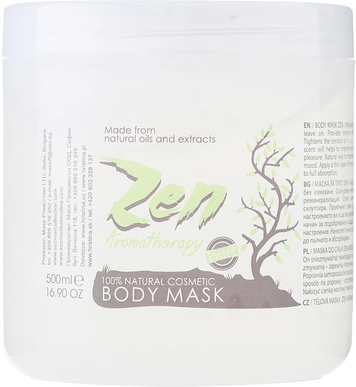 Masca de corp - Sezmar Collection Professional Zen Aromatherapy Body Mask