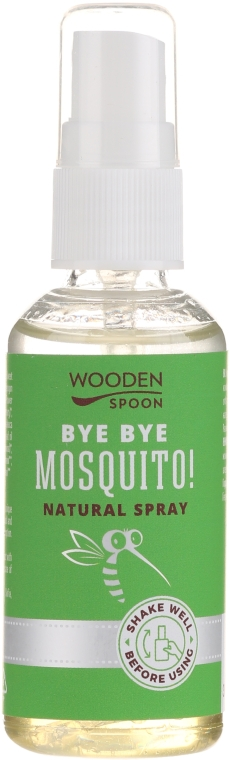 Spray împotriva insectelor - Wooden Spoon Bye Bye Mosquito Insect Repellent — Imagine N1