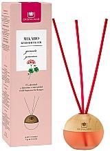 """Parfumuri și produse cosmetice Difuzor aromatic """"Geranium"""" - Cristalinas Mikado Reed Diffuser"""