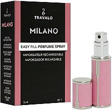 Parfumuri și produse cosmetice Atomizor - Travalo Milano Pink Rose