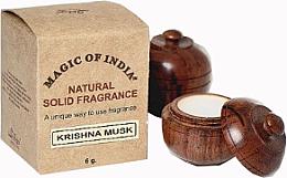 "Parfumuri și produse cosmetice Cremă-parfum natural ""Krishna Musk"" - Shamasa"