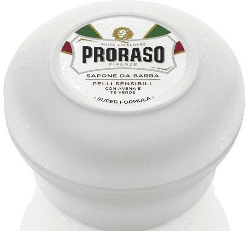 Săpun de ras pentru pielea sensibilă - Proraso White Line Soap Super Formula