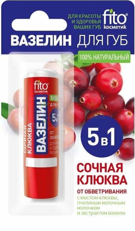 """Vaseline cosmetică pentru buze """"Afine"""" - FitoKosmetik"""