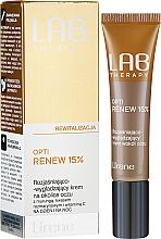 Parfumuri și produse cosmetice Cremă cu efect de netezire pentru zona ochilor - Lirene Lab Therapy Revitality Opti Renew 15%