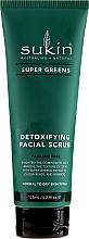 Parfumuri și produse cosmetice Scrub pentru față - Sukin Super Greens Detoxifying Facial Scrub