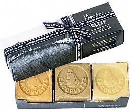 Parfumuri și produse cosmetice Set - La Corvette Provence Soap Gift Box (soap/3x100g)