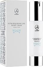 Parfumuri și produse cosmetice Cremă regenerantă antirid de noapte pentru față - Lambre Ultra Hyaluronic