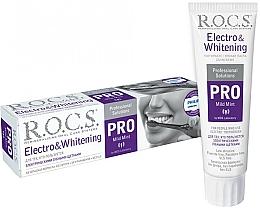 Parfumuri și produse cosmetice Pastă de dinți pentru perii electrice - R.O.C.S. Pro Electro & Whitening Mild Mint
