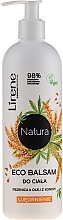 """Parfumuri și produse cosmetice Balsam pentru corp """"Grâu și ulei de cânepă"""" - Lirene Natura Eco Balm"""