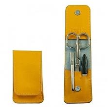 """Parfumuri și produse cosmetice Set manichiură """"Mango"""", 3 instrumente - Credo Solingen Luxurious Manicure Set"""