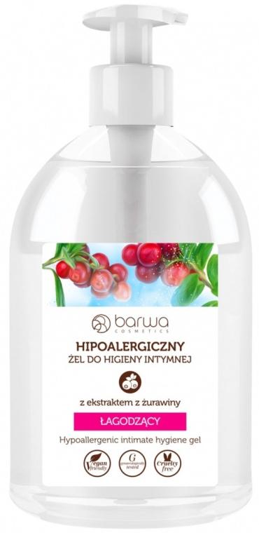 Gel pentru igiena intimă cu extract de afine - Barwa Hypoallergenic Intime Gel Cranberry — Imagine N1