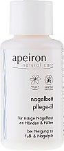 Parfumuri și produse cosmetice Ulei pentru mâini și unghii - Apeiron Nail Bed Oil