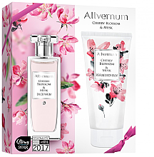 Parfumuri și produse cosmetice Allvernum Allverne Cherry Blossom & Musk - Set (edp/50ml + b/lot/200ml)
