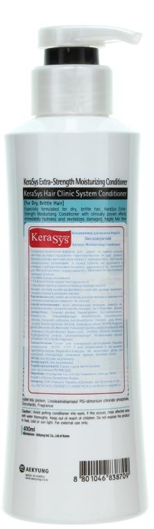 "Balsam de păr ""Hidratare"" - KeraSys Hair Clinic Moisturizing Conditioner — Imagine N2"