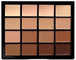 Parfumuri și produse cosmetice Paletă pentru machiaj - NYX Professional Makeup Pro Foundation Palette