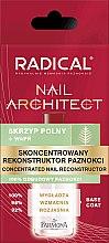 Parfumuri și produse cosmetice Concentrat pentru unghii - Farmona Radical Nail Architect