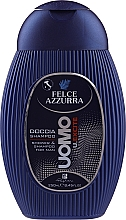"Parfumuri și produse cosmetice Șampon-gel de duș ""Excite"" - Paglieri Felce Azzurra Shampoo And Shower Gel For Man"