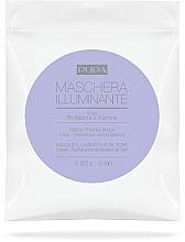 Parfumuri și produse cosmetice Masca folie de față - Pupa Maschera Illuminante Viso