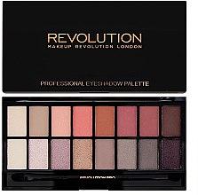 Parfumuri și produse cosmetice Paletă fard de pleoape, 16 culori - Makeup Revolution Profesional Eyeshadow Palette
