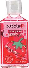 """Parfumuri și produse cosmetice Gel antibacterian de curățare pentru mâini """"Căpșună"""" - Bubble T Cleansing Hand Gel Strawberry"""