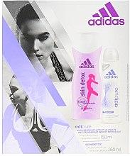 Set - Adidas Adipure Skin Detox Woman (deo/spray 150 ml + sh/gel 250 ml) — Imagine N1