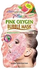 """Parfumuri și produse cosmetice Bubble Mask pentru față """"Roz"""" - 7th Heaven Pink Oxygen Bubble Mask"""
