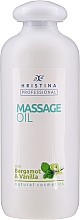 Parfumuri și produse cosmetice Ulei cu bergamotă și vanilie pentru masaj - Hristina Professional Bergamot & Vanilla Massage Oil