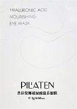 Parfumuri și produse cosmetice Mască revitalizantă pentru pielea din jurul ochilor - Pilaten Hyaluronic Acid Nourishing Eye Mask