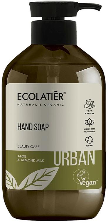 """Săpun lichid """"Aloe și Lapte de migdale"""" - Ecolatier Urban Liquid Soap"""