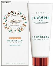 Parfumuri și produse cosmetice Mască de față curățare profundă - Lumene Sisu Expert Deep Clean Purifying Mask