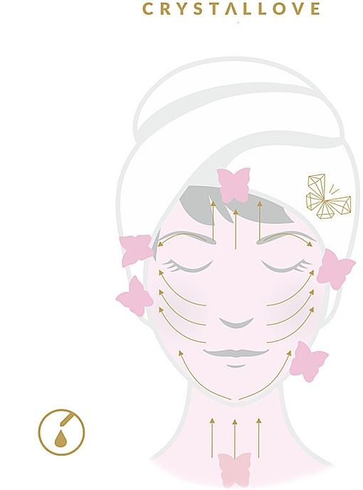 Accesoriu pentru masaj facial - Crystallove Jade Gua Sha — Imagine N3