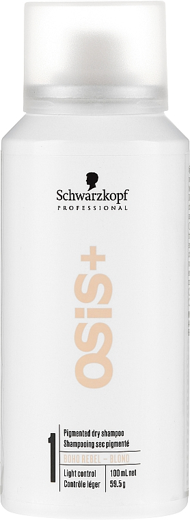 Șampon uscat pentru păr blond - Schwarzkopf Professional Osis+ Boho Rebel Blond