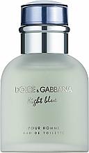 Parfumuri și produse cosmetice Dolce & Gabbana D&G Light Blue Pour Homme - Apă de toaletă (tester cu capac)