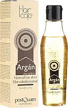 Parfumuri și produse cosmetice Elixir cu ulei de argan pentru păr - PostQuam Argan Sublime Hair Care Normal Hair Elixir