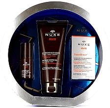 Parfumuri și produse cosmetice Set - Nuxe Men Anti-Age (eye/cr/15ml + f/fluid/50ml + sh/gel/200ml)