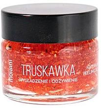 Parfumuri și produse cosmetice Scrub pentru buze - Mohani Strawberry Smoothing And Nouriahing Lip Scrub