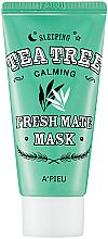 Parfumuri și produse cosmetice Mască de noapte cu arbore de ceai - A'pieu Fresh Mate Tea Tree Mask
