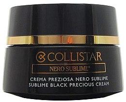 Parfumuri și produse cosmetice Cremă de față și gât - Collistar Nero Sublime Cream (tester)